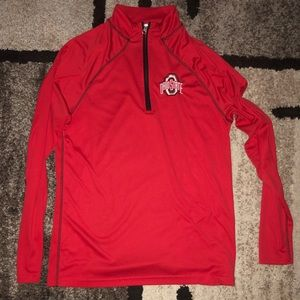 Ohio State quarter zip